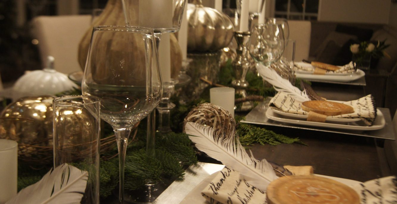 A Rustic/Chic Thanksgiving