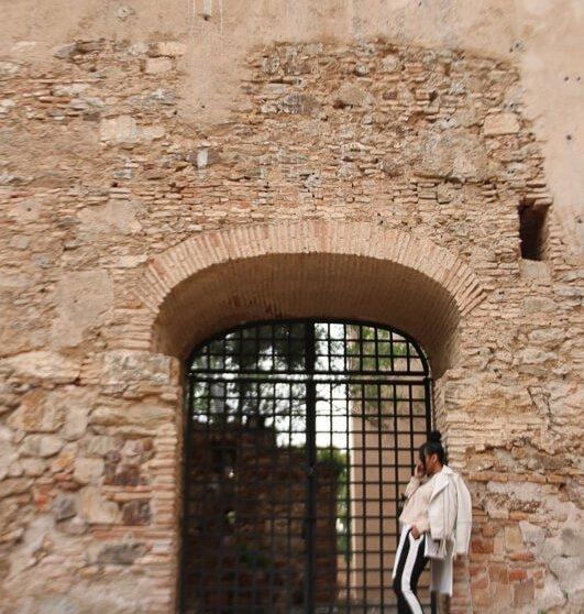 Castillo de Gibralfaro ,Malaga Spain
